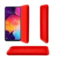 """LIME ΘΗΚΗ SAMSUNG A50 2019 / A30S 6.4"""" VELVET TPU 4 SIDE RED Lime, Gadgets, Samsung Galaxy, Velvet, Red, Wallpapers, Accessories, Limes, Wallpaper"""