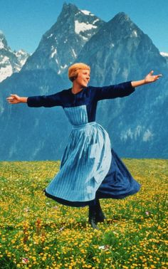 Julie Andrews - The Sound of Music (Robert Wise,1965)