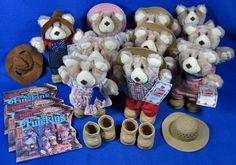Wendy's Promo Large Lot Of Furskins Bears 10 Plush 3 Books 4 Boots & 2 Hats #APPALACHIANARTWORKS