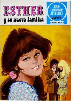 JOYAS LITERARIAS JUVENILES SERIE AZUL / JOYAS LITERARIAS FEMENINAS (BRUGUERA, 1977) 2 Comics Vintage, Nostalgia, Bunker, Memories, Humor, Painting, Journals, Books, Illustrations