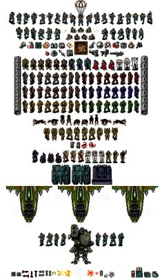 Thing Thing Sprite Sheet By Father Alexander On Deviantart