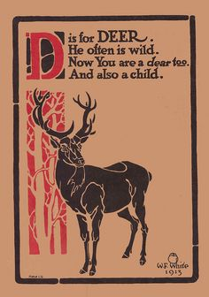 D is for Deer Lord