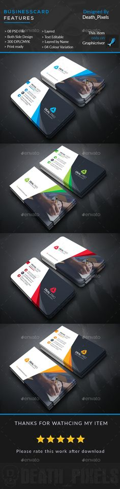 Creative Business Card Template PSD. Download here: https://graphicriver.net/item/creative-business-card/17420494?ref=ksioks
