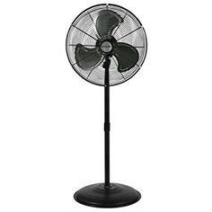 Commercial 736474 Black Sunlight Supply Inc 20 Inch Hurricane Wall Mount Fan and Greenhouse Use Residential Pro Series Heavy Duty Metal Wall Mount Fan for Industrial High Velocity ETL Listed