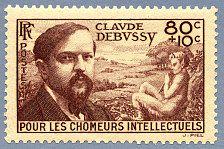 Claude Debussy -Timbre de 1940