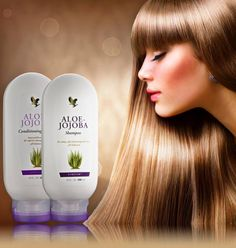 .Aloe vera shampoo and conditioner