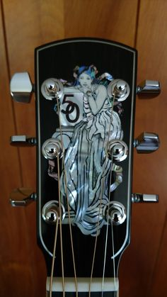 Larrivee LV-10 50th Anniversary #larrivee #headstock, #inlay