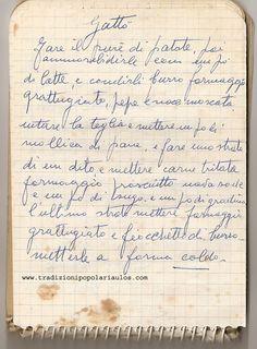Gattò - Le ricette di Nonna Maria - Antiche ricette siciliane Best Dinner Recipes, Old Recipes, Quiche, Sicilian Recipes, Gnocchi, Food Art, Good Food, About Me Blog, Food And Drink