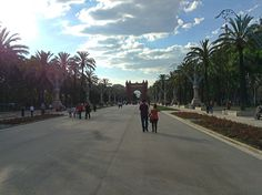Passeig de Sant Joan and Arc de Triomf