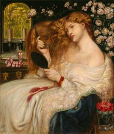 Dante Gabriel Rossetti: Lady Lilith (08.162.1) | Heilbrunn Timeline of Art History | The Metropolitan Museum of Art