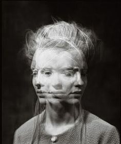 Multiple Exposure #photomontage | I think that black has overtaken my love for white in backgrounds.