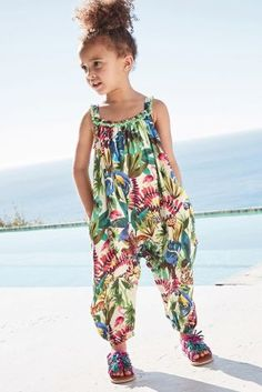 29ba889ac57a Buy Green Printed Playsuit (3mths-6yrs) from the Next UK online shop  Jumpsuits