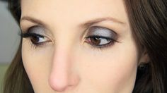Original Naked Palette: Steely Purple Smokey Eye Look