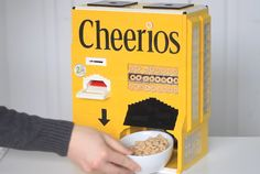 Cheerios have never tasted so nerdy.