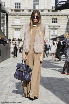Style Guide: How to wear Faux Fur vest?