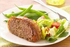 Cheesy Bacon Meatloaf