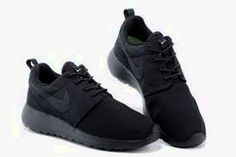 3b531b0956cd4 Nike Roshe Run Shoes Cheap - Original Nike Roshe Run One Mesh Black Discount  Shop