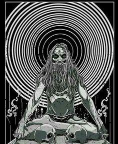 The Tribe. Shiva Yoga, Trishul, Darkness Falls, Art Base, Indian Gods, Visionary Art, Lord Shiva, Gods And Goddesses, Deities
