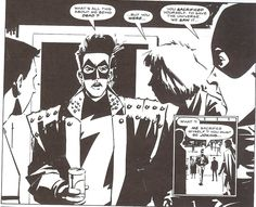 Zenith, by Grant Morrison. One of my favourite strips from 2000AD back when I was 12 and had graduated from Spiderman.