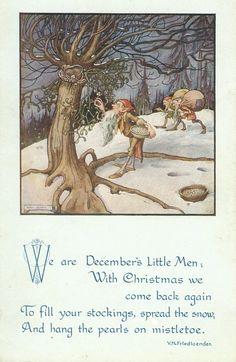 Christmas Gnome and His Kitty