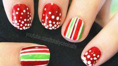 Simple Festive Nails Tutorial