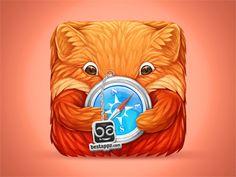 Dribbble - Best Web Appz icon by Nina Radenković