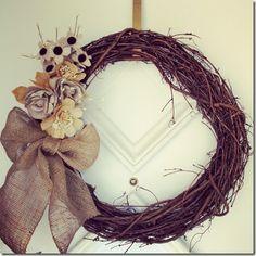 The $25/10 Minute DIY Wreath