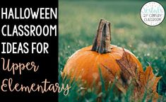 Who says holidays shouldn't be celebrated in upper elementary? Here are   some of my favorite Halloween classroom ideas for upper elementary   classrooms! Not only will students love these activities, but they will   also allow you to cover the standards. #vestals21stcenturyclassroom   #halloweenclassroomideas #halloweenactivitiesfortheclassroom   #halloweenactivitiesupperelementary
