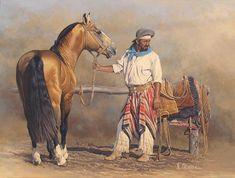 Arte Equina, Cowboy Art, Rio Grande Do Sul, All The Pretty Horses, Equine Art, Western Art, Horse Art, Geometric Art, Illustration Art