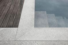 Poolumrandung und Treppe in Onsernone