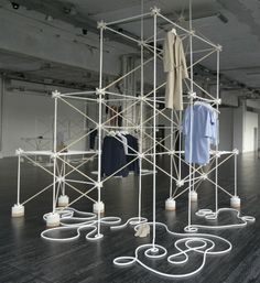 """COS Bonsoir Paris"" The creative duo Bonsoir Paris collaborated together with fashion brand COS for an installation at Salone del Mobile in Milan, Italy."