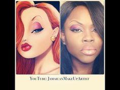 Jessica Rabbit Makeup Tutorial