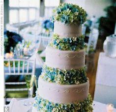 hydrangea cake?