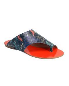 RASTEIRA EM COBRA COLOR |Bella Bella Shoes