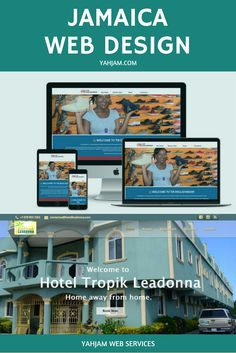 Jamaica website design by Yahjam. Find out how you can own a first class pro website without the first class price! Watch the video above to find out more