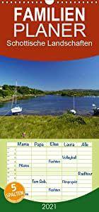 Schottische Landschaften - Familienplaner hoch (Wandkalender 2021, 21 cm x 45 cm, hoch) Map, Author, Wall Calendars, Landscapes, Deutsch, Location Map, Maps