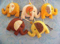 Elephants Mobile - etsy.com/shop/lollipopmoon