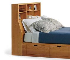 Cambridge storage headboard from $1,730 to $4,750.00  Shipmate's storage bed from $2,545 to $7,060 November 2015
