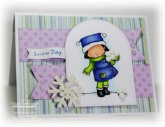 MFTWSC101: Snow Day by One Happy Stamper - Cards and Paper Crafts at Splitcoaststampers