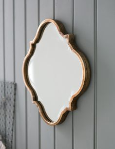 Wave Edged Mirror at Rose and Grey, home accessories