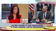 """Fox News host Andrea Tantaros said Thursday during a discussion about Attorney General Eric Holder's reported resignation that he ran the Department of Justice """"much like the Black Panthers would."""" Did I just say a BAGGAS train of thought . !"""