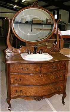 Bathroom dresser