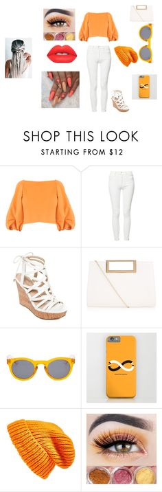 """""""Untitled #148"""" by chelseastewart91977 ❤ liked on Polyvore featuring TIBI, Mother, GUESS, New Look, Vans, Topshop and Lime Crime"""