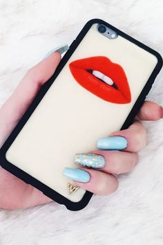 Wildflower Lips iPhone 6/6S Case