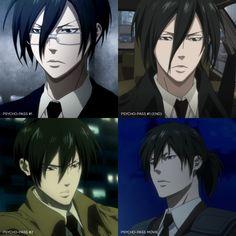 Hot Anime Guys, Anime Love, Ginoza Nobuchika, Twitter Profile Picture, Psycho Pass, Japanese Illustration, Hitman Reborn, White Picture, Manga Anime