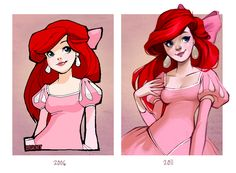 2006, meet 2011 by `loish on deviantART ooo I can't wait for my art to improve over time