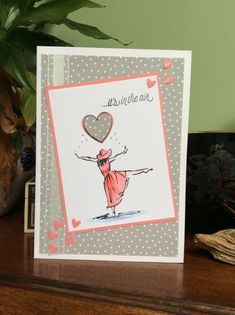 I am not a great fan of Valentine's Day as being a single lady there really isn't much call for it. However as a Stampin Up demonstrator it ...