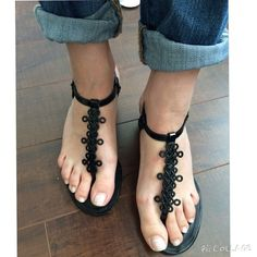 DVF Black Patent Leather Strap Sandals Logo strap sandals, black and classy! Leather soles. Worn just several times! Still in a great condition! Diane von Furstenberg Shoes Sandals