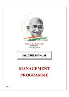 "Mahatma Gandhi University  offers syllabus for ""Post Graduate Hospital Management"". For more information Post Graduate Hospital Management Visit Online- http://www.mgu.edu.in/"