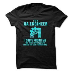 Love being -- QA-ENGINEER T-Shirts, Hoodies (21.99$ ==► Shopping Now to order this Shirt!)